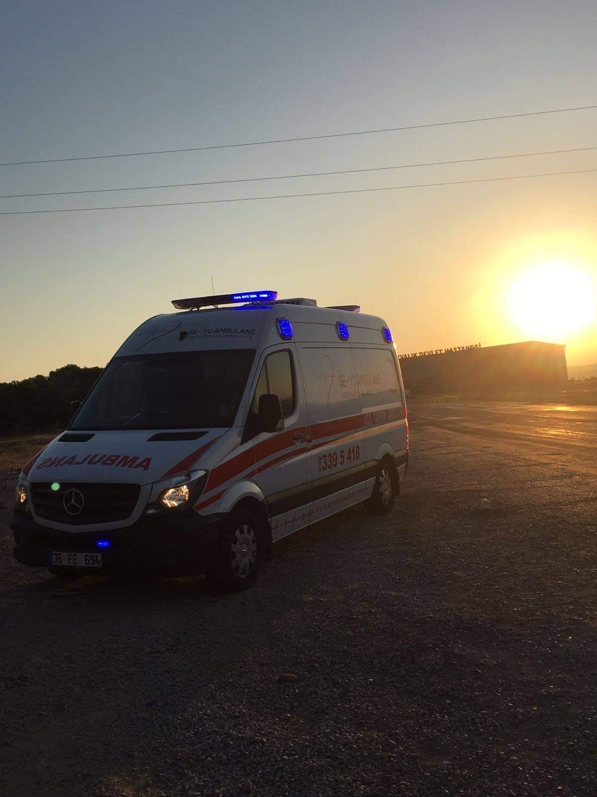 Özel Ambulans Muğla Kavaklıdere