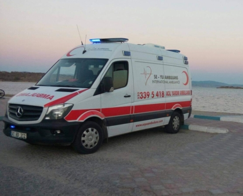 özel ambulans ortaca
